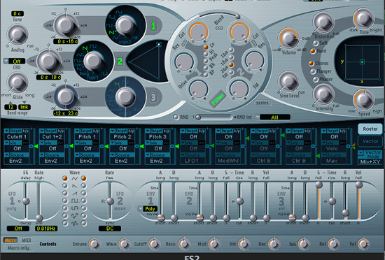 es2 init音の作り方
