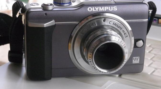 OLYMPUS E-PL1入手!!
